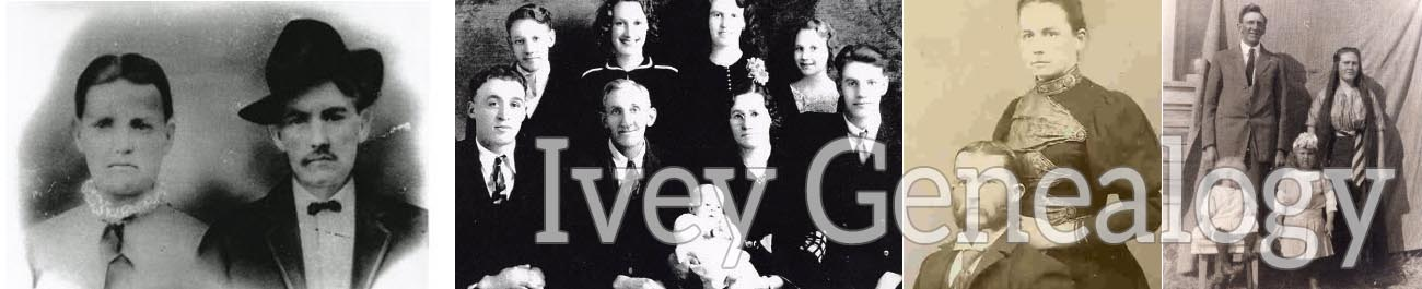 ivey ivy genealogy family tree research